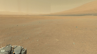 Mars Panorama #2 (Panoramic View from Mars Exploration Rover Curiosity) - 3D Panorama for .NET Framework for Silverlight